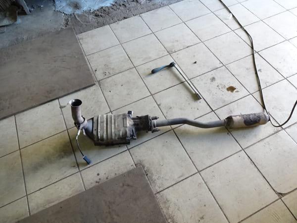 Ремонт катализатора своими руками рено меган
